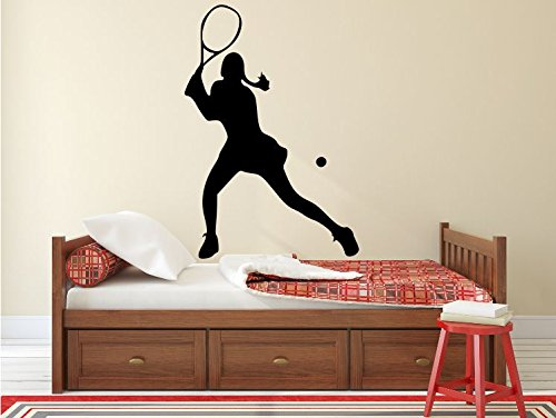 Maxx Graphixx Tennis Player Wall Decal - 39