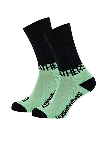 Horsefeathers Mask Socken, Farbe:misty jade, Größe:US 11-13