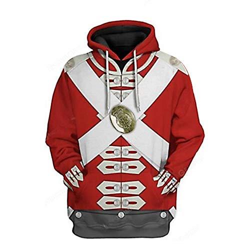 3D Impreso Pullover Hoodie Jacket Coat para influyentes figuras histricas Presidente Lder Cosplay Disfraz