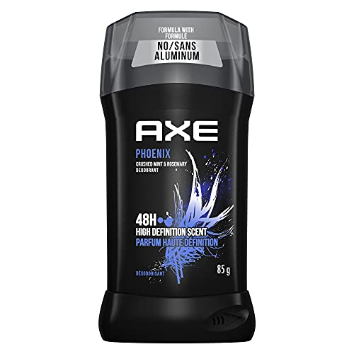 AXE Dual Action Deodorant Stick for Long Lasting Odor Protection Phoenix Crushed Mint & Rosemary Mens Deodorant Formulated Without Aluminum 3.0 oz