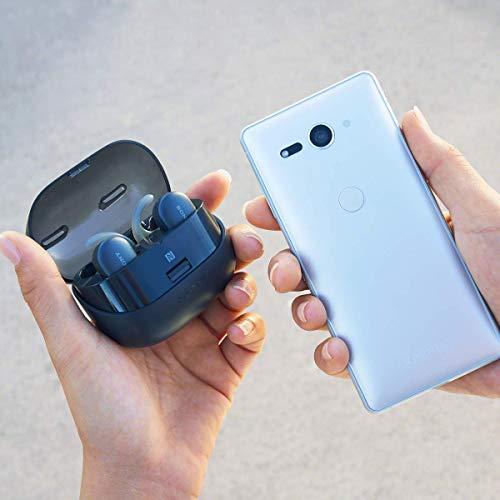 ソニー完全ワイヤレスイヤホンWF-SP900:Bluetooth対応左右分離型防水仕様4GBメモリ内蔵2018年モデル/マイク付き/ブラック