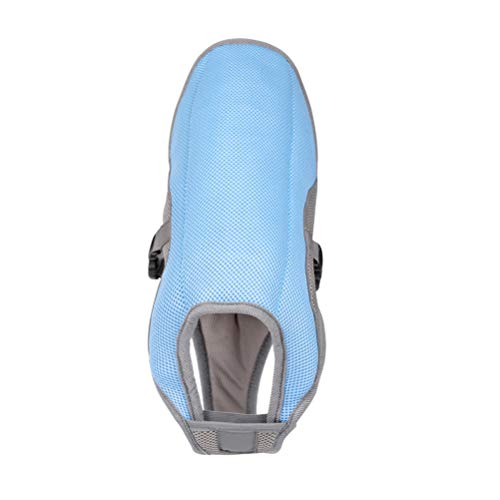 VILLCASE Chaleco de enfriamiento de verano para mascotas cómodo de verano para mascotas arnés de perro abrigo de enfriamiento tamaño L (azul) - Disfraz de mascota