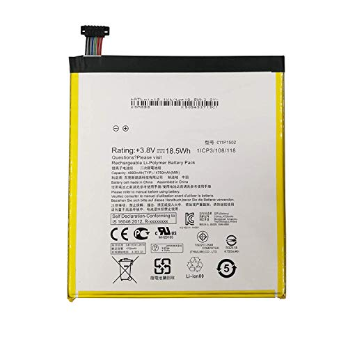 WYGUO C11P1502 (1ICP3/108/118) Reemplazo de la batería de Mesa para ASUS ZenPad...