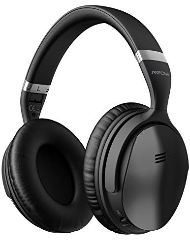 Mpow H5 Active Noise Cancelling Headphones, Superior Deep Bass Bluetooth Headphones
