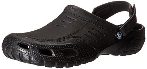 Crocs Yukon Sport Men, Herren Clogs, Schwarz (Black/Black), 46/47 EU