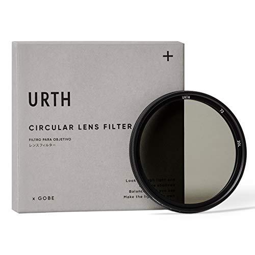 Urth x Gobe - Filtro per obiettivi ND variabile ND2-32 (1-5 Stop) 72 mm (Plus+)