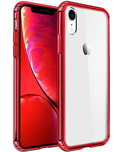 Mkeke Compatible with iPhone Xr Case,Clear Cover for 6.1 Inch Red Kentucky
