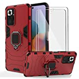BestShare For Xiaomi Redmi Note 10 Pro Case with Tempered