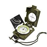 Multifunctional Military Army Compass with Height and Slopes Calculator with Carry Bag