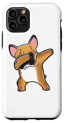 iPhone 11 Pro Dabbing Fawn French Bulldog Dog Case