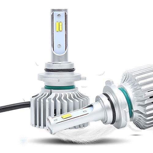 LED S6 phare kit 9005 halogène remplacement aluminium près et de loin la lumière lumière de 5800ML, blanc 12 24V, 1 pièce