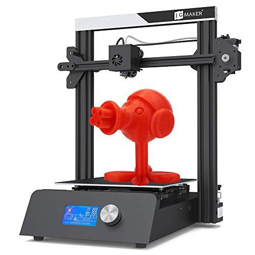 JGAURORA Imprimante 3D de Haute précision Magique Bricolage avec capteur de sécurité à Filament de Base métallique Satble intégré dans l'alimentation