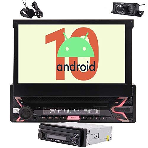 Estéreo único Coche del Dinar androide 10 1 DIN Radio Bluetooth Pantalla...