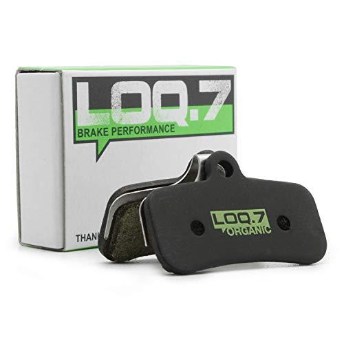 LOQ.7 - Pastillas de freno para bicicleta (orgánicas, para Shimano New Saint,...