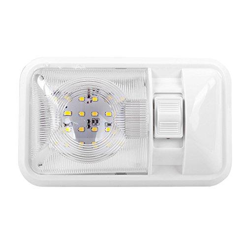 ProPlus Éclairage intérieur pour caravane, camping-car, bateau, 24 LED, 12 V, 320 lm, 38 x 208 x 127 mm, interrupteur marche/arrêt