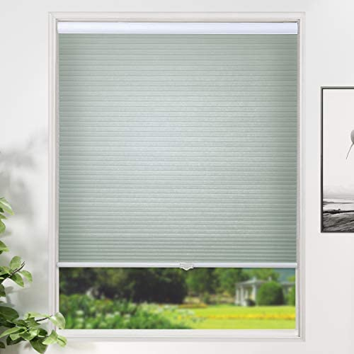 SUNFREE Cellular Blinds Cordless Honeycomb Shades Light Filtering Door Window Blinds for Home product image