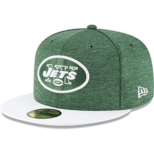 New Era NFL New York Jets Authentic 2018 Sideline 59FIFTY Home Cap, Größe :7 5/8