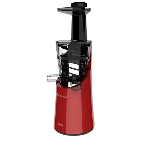Jupiter 866400 Juicepresso Plus Entsafter Slow Juicer, rot