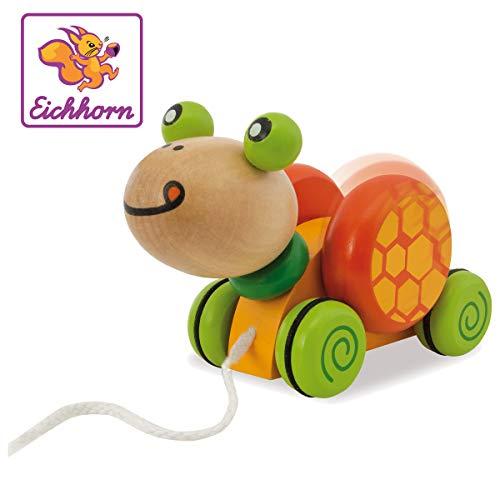 """Eichhorn 100005553\"""" Nachziehtier, Schildkröte Spielzeug, Bunt"""