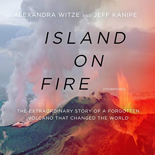 Island on Fire audiobook cover art