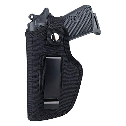 Pecawen Concealed Carry Holster Universal Holster The Waistband Holster for Right and Left Fits S&W, Glock 23,36,39,42,43/Ruger & All Similar Handguns