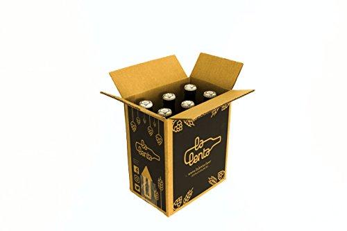 Cerveza artesanal Golden Koeman de La Lenta (6 botellas de 33cl)