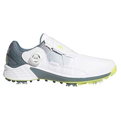 [アディダスゴルフ] ゴルフシューズ ゼッドジー21 ボア メンズ フットウェアホワイト/アシッド イエロー/ブルーオキサイド 27.5 cm