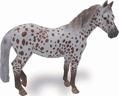 CollectA 88750 - British Spotted Pony Stute kastanienbraun-leopardfarben