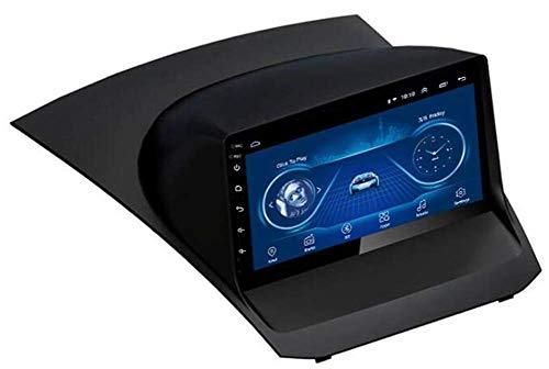 SSeir Radio automático de 9 Pulgadas Estéreo Android 8.1 Reproductor de MP5 Navigator para Ford Fiesta (2013-2017), GPS 2.5D Pantalla táctil Completa, WiFi, BT, SWC, Enlace Espejo