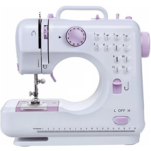 Sohler Electric Sewing Machine Multifunction 12 Stitches Portable Mini...