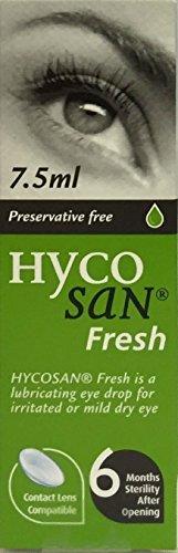 Hycosan Fresh Augentropfen, ohne Konservierungsstoffe, 7,5 ml, 3 Packungen