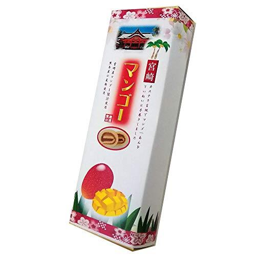 宮崎マンゴーあん巻 細箱×1箱 イソップ製菓 カステラ生地でマンゴーあんを手巻きにした郷土菓子