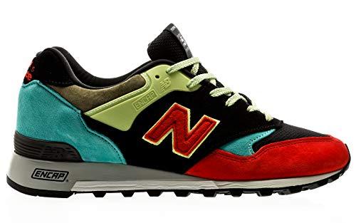 New Balance Herren M577ST Trailrunning-Schuh, Negro, 32 EU