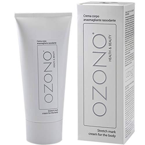OZONO H&B Crema Corpo Rassodante - Trattamento Professionale - Olio Ozonizzato Estratti Naturali Nutrienti - Antibatterico - Bio-Stimolante Anasmagliante - MADE IN ITALY (200 ML)