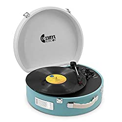 Vinyl Music On Vintage Record Player - Best Record Player With Speakers
