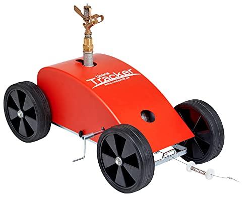 Underhill T-400-2 Tracker Portable Irrigation Machine Traveling Sprinkler, Red