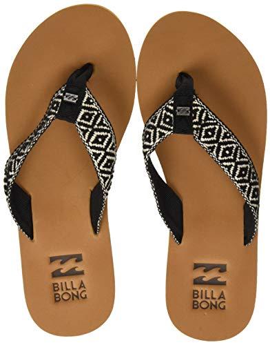 Billabong Damen Baja Dusch- & Badeschuhe, Mehrfarbig (Black Cream 3050), 39 EU