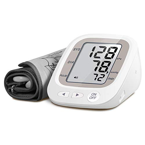 NISCOMED PW-218 Fully Automatic Digital Blood Pressure Monitor - Off White