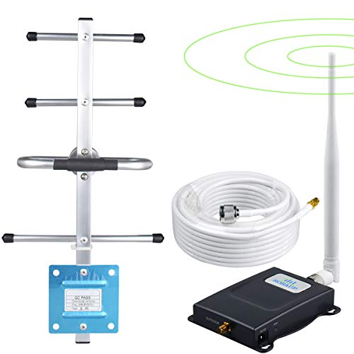 SOSAUP Cell Phone Signal Booster Verizon 4G LTE 700Mhz Band13 Verizon Signal Booster Boost Voice+Data Cell Signal Booster Verizon Cell Phone Signal Amplifier Home Office Use