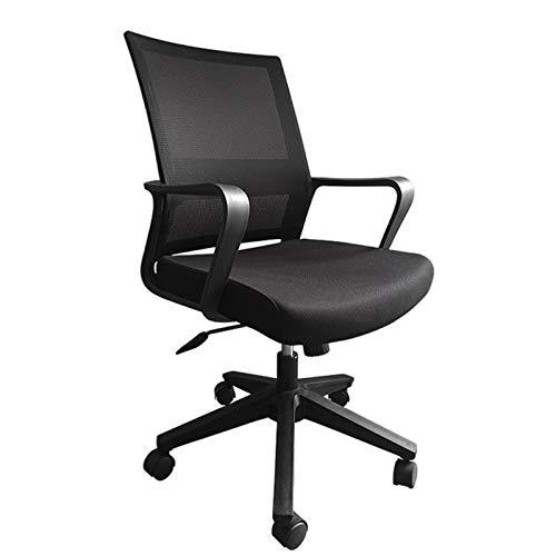 DONGBALA Sedia da Ufficio ergonomica, Sedia da Ufficio in Maglia Traspirante Sedia da Ufficio a Sedia da Ufficio, Sedia per Computer Girevole a 360 °, Cuscino per sedili Regolabile