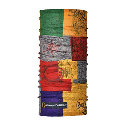 Buff Temple Tour de Cou Original National Geographic Mixte Adulte, Multi, FR Unique Fabricant : Taille One sizeque
