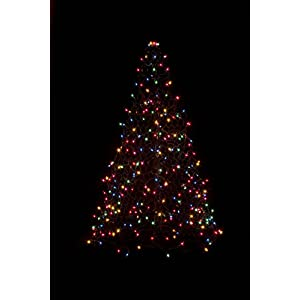 deb19177eed2 Crab Pot Trees 5 ft. Indoor/Outdoor Pre-Lit LED Artificial Christmas Tree  with Green Frame and 280 Multi-Color LightsCrab Pot Trees 5 ft.