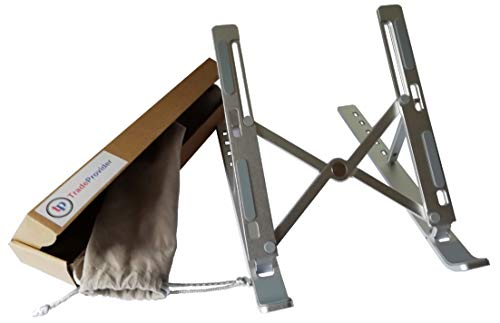 Laptop Stand, Phone stand, Laptop Riser, Computer Stand, Adjustable Laptop Raiser, Ventilated Laptop Stand by TradeProvider