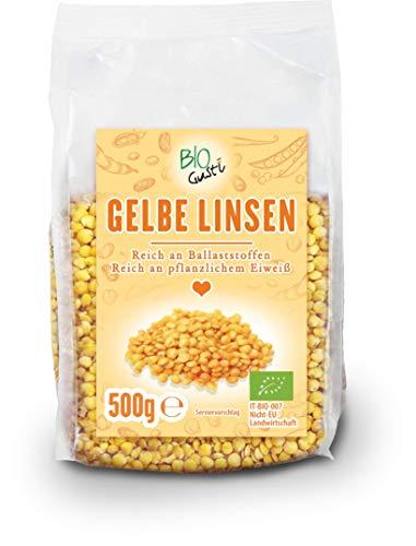 Biogustí Bio gelbe Linsen, 500 g