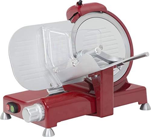 RGV Luxury 25 Red Edition Elettrico 140 W Alluminio Rosso Affettatrice - Tagliafiami (Aluminio, Rosso, 530 mm, 480 mm, 375 mm, 14 kg)