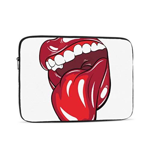 Cover for MacBook Air Colorful Mouth Laptop Pro Accessories Multi-Color & Size Choices10/12/13/15/17 Inch Computer Tablet Briefcase Carrying Bag