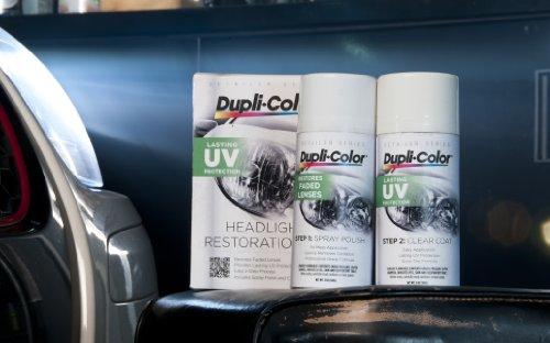 Dupli-Color E00 Headlight Restoration Kit