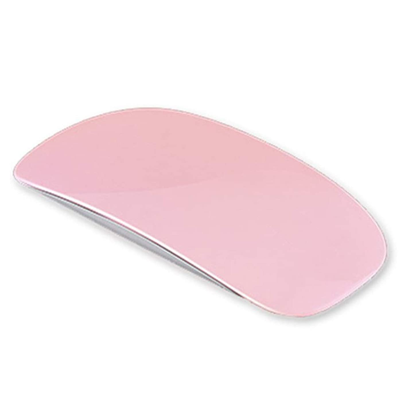 不満したいセッションネイルドライヤー UV/LEDライト硬化用ライトUSB式 マウス形 折りたたみ式 ミニ携帯便利(ピンク)