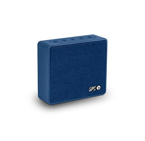 SPC One Speaker azul con acabado en tela y 4 watios de potencia