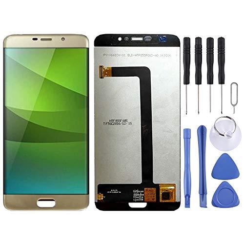 Tangjiangeng - Accesorios profesionales compatibles con Elephone S7 pantalla LCD y digitalizador...